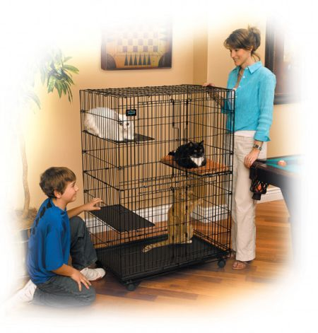 Kattenren  Cat Playpen 130